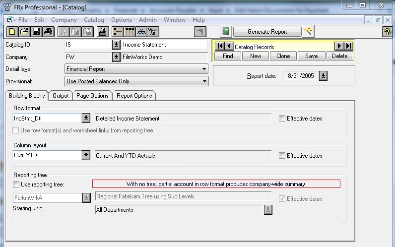 Move from FRx and Management Reporter to BIO   Step Up from a Static